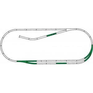 Rocoline ballast 42011 Coffret de voie complémentaire C