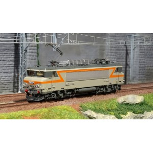 Ls Models 10209S Locomotive électrique BB 7288 SNCF, Gris / Orange, Villeneuve, Digitale sonore
