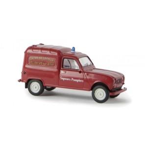 Sai 2436 Renault 4 fourgonnette 1961, Sapeurs Pompiers Bellerive sur Allier