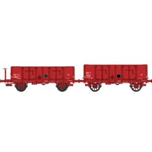 Ree modeles WB479 Set de 2 Wagons Tombereau OCEM 29, SNCF - ep.III
