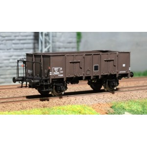 Ree modeles WB483 Wagon Tombereau OCEM 29, brun, plateforme - SNCF ep.III