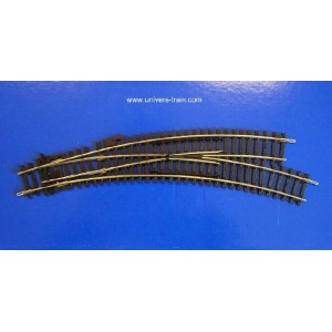 Jouef Hornby R8075 Aiguillage en courbe à droite