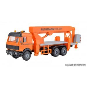 Kibri 15008 Camion MB avec nacelle RUTHMANN STEIGER