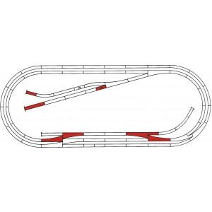 Rocoline ballast 42013 Coffret de voie complémentaire E