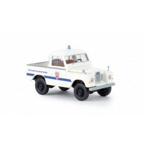 Brekina 13863 Land Rover 88, Police CRS