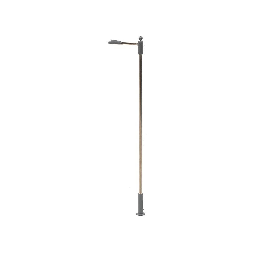 Faller 180202 Eclairage, Lampadaire lampe en prolongement 10cm, avec LED, câblé