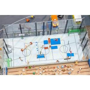 Faller 180354 Maquette, Set d'aménagement de salle de sports