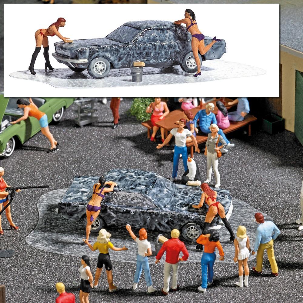 Busch 7824 Lavage de voiture