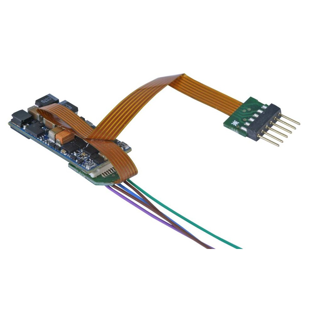 Esu 58816 Décodeur sonore Micro vierge Nem 651, 6 broches, Loksound V5