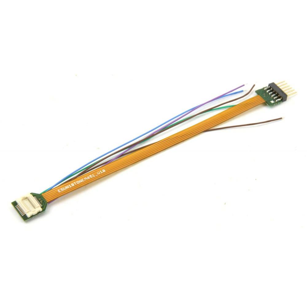 Esu 51994 Cordon pour micro décodeur Loksound V5, Next18 / NEM651 6 broches