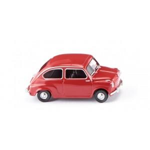 Wiking 009904 Fiat 600, rouge