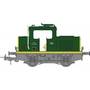 Ree Modeles MB 078S Locotracteur MOYSE 32 TDE ep. III, Vert 301, phares Marchal, Digital sonore