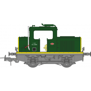 Ree Modeles MB 078 Locotracteur MOYSE 32 TDE ep. III, Vert 301, phares Marchal