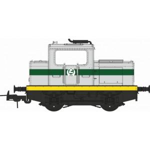 Ree Modeles MB 122S Locotracteur MOYSE 32 TDE, INDUSTRIEL Ex-SNCF, Ciments LAFARGE, ep. IV-V, Digital sonore
