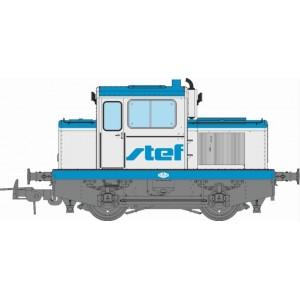 Ree Modeles MB 124 Locotracteur MOYSE 32 TDE, INDUSTRIEL Ex-SNCF, STEF, ep. IV-V