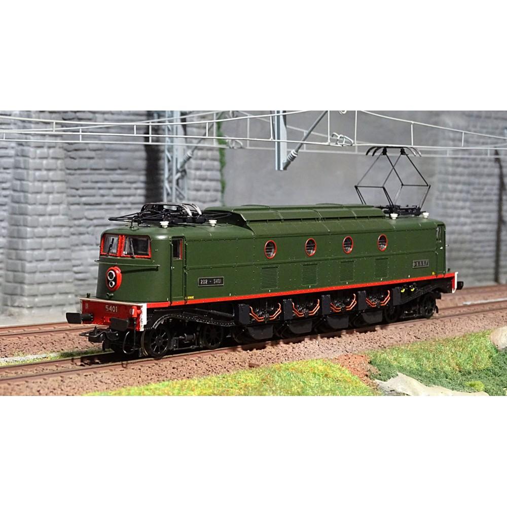 Jouef HJ2367S Locomotive électrique 2D2 5401 SNCF, Dépôt Montrouge, ep.III, digitale sonore