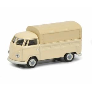 Schuco 452655100 Volkswagen combi T1 pick-up bâché
