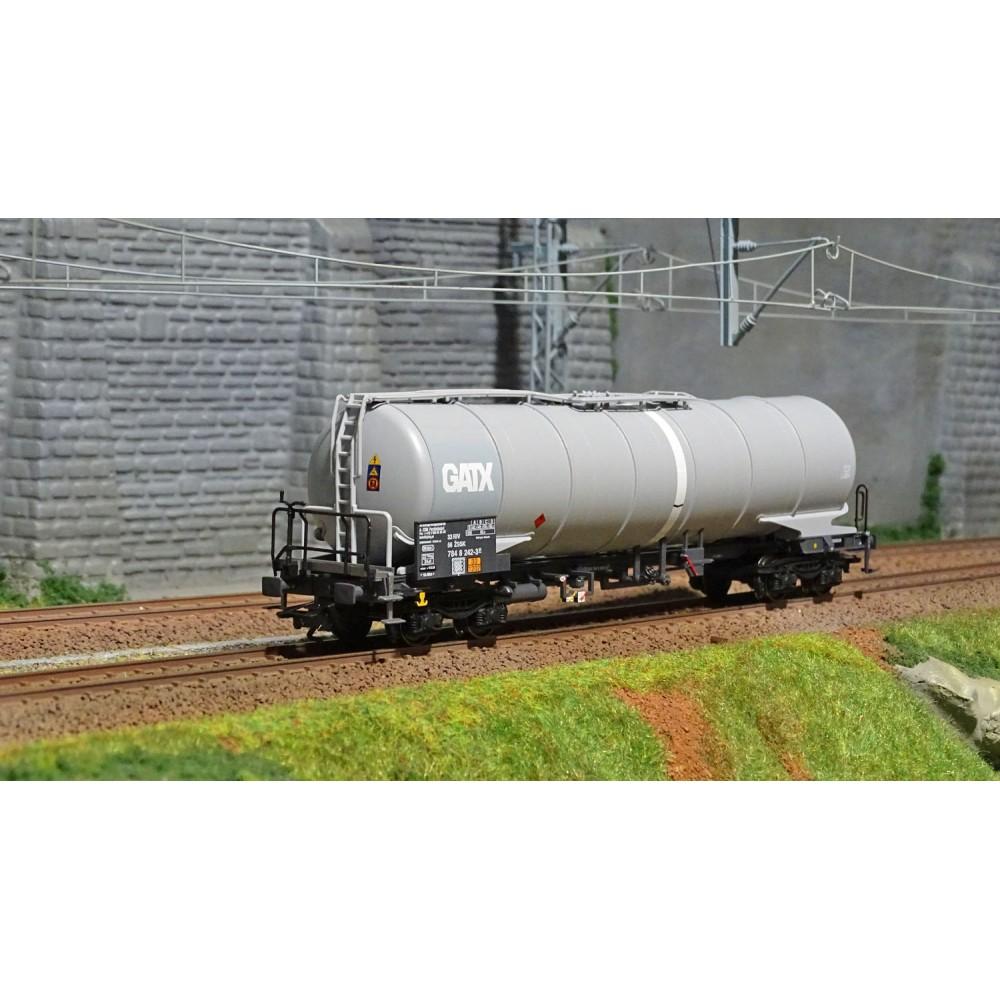 Trix 24217 Wagon citerne Zans, KVG, GATX