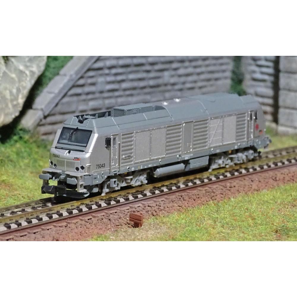 REE Modeles NW111 Locomotive Diesel BB 75043, VFLI, échelle N