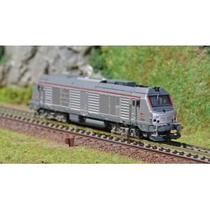 REE Modeles NW108 Locomotive Diesel BB 75333, SNCF, Intercité, échelle N