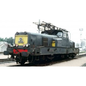 Jouef HJ2339S Locomotive électrique BB 12026, SNCF, livrée vert / jaune, digitale sonore