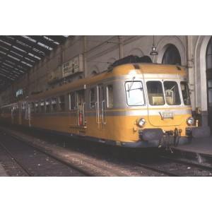 Jouef HJ2387S Autorail diesel X 2700 à 2 voitures, SNCF, livré orange - argent, digital sonore