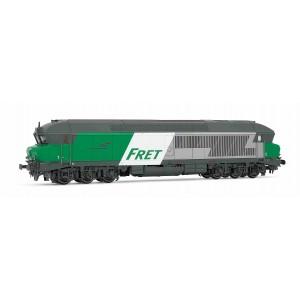 """Jouef HJ2601 Locomotive diesel CC 72000, SNCF, livré """"FRET"""""""