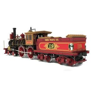 OcCre 54008 Locomotive Rogers n°119 1/32 kit construction bois métal