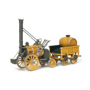 OcCre 54000 Locomotive à vapeur Rocket 1/24 kit construction bois métal