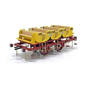 OcCre 56001 Voitures voyageurs Adler 1/24 kit construction bois métal