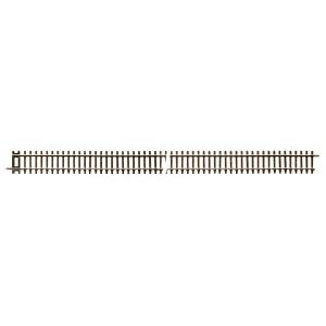 Rocoline 42406 Rail rigide droit G4 traverse bois avec éclisses 920mm