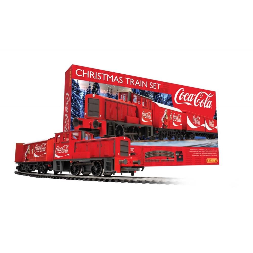 Hornby R1233 Coffret de départ train Noël Coca Cola