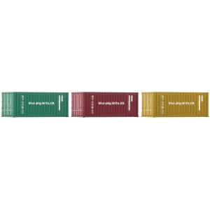 Roco 05217 Set de 3 conteneurs 20ft