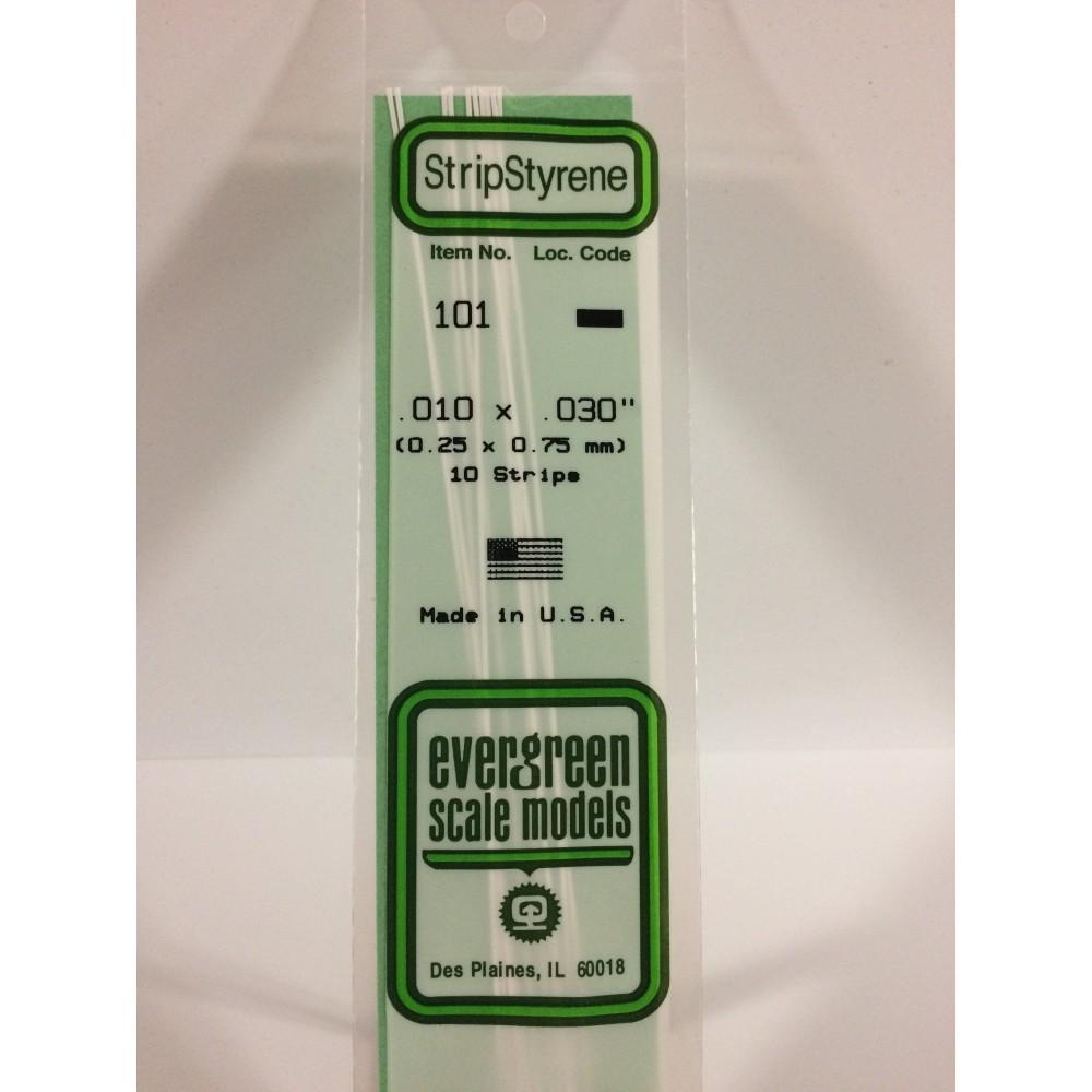 Baguette 0.25x0.75x350mm Ref : 101 - Evergreen