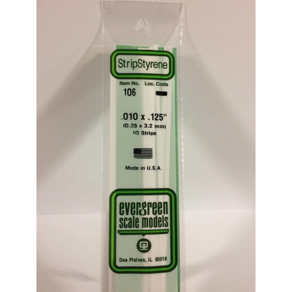 Baguette 0.25x3.2x350mm Ref : 106 - Evergreen