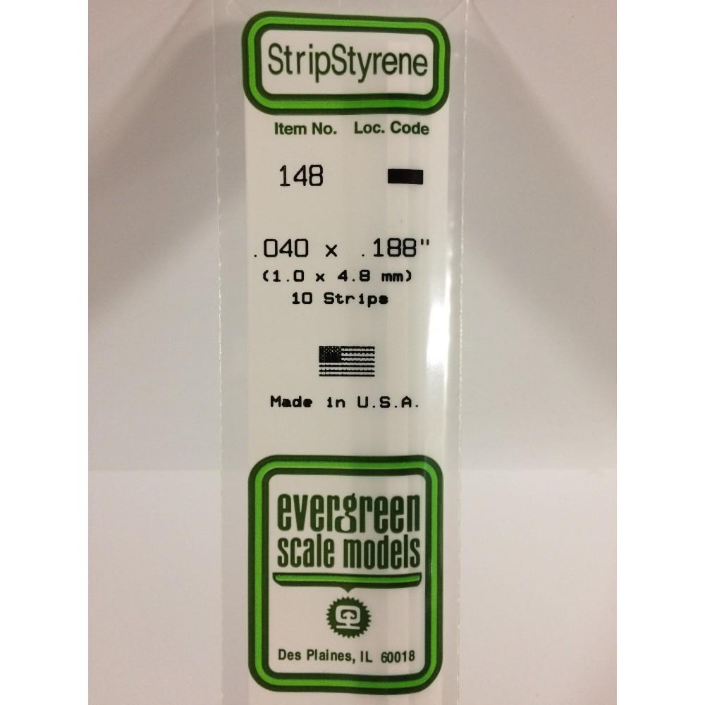 Baguette 1.0x4.8x350mm Ref : 148 - Evergreen