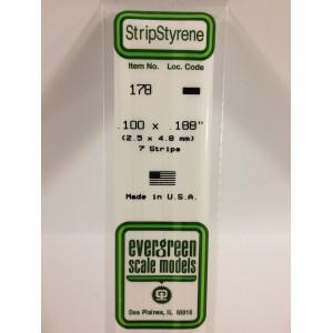 Baguette 2.5x4.8x350mm Ref : 178 - Evergreen