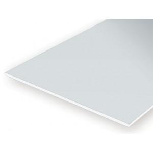 Plaque opaque lisse 0.25x150x300mm Ref : 9010 - Evergreen