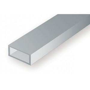 Tube rectangulaire 3.2x6.3x350mm Ref : 257 - Evergreen