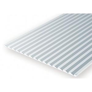Plaque rainurée bardage en escalier 1.0x2.7x150x300mm Ref : 4109 - Evergreen