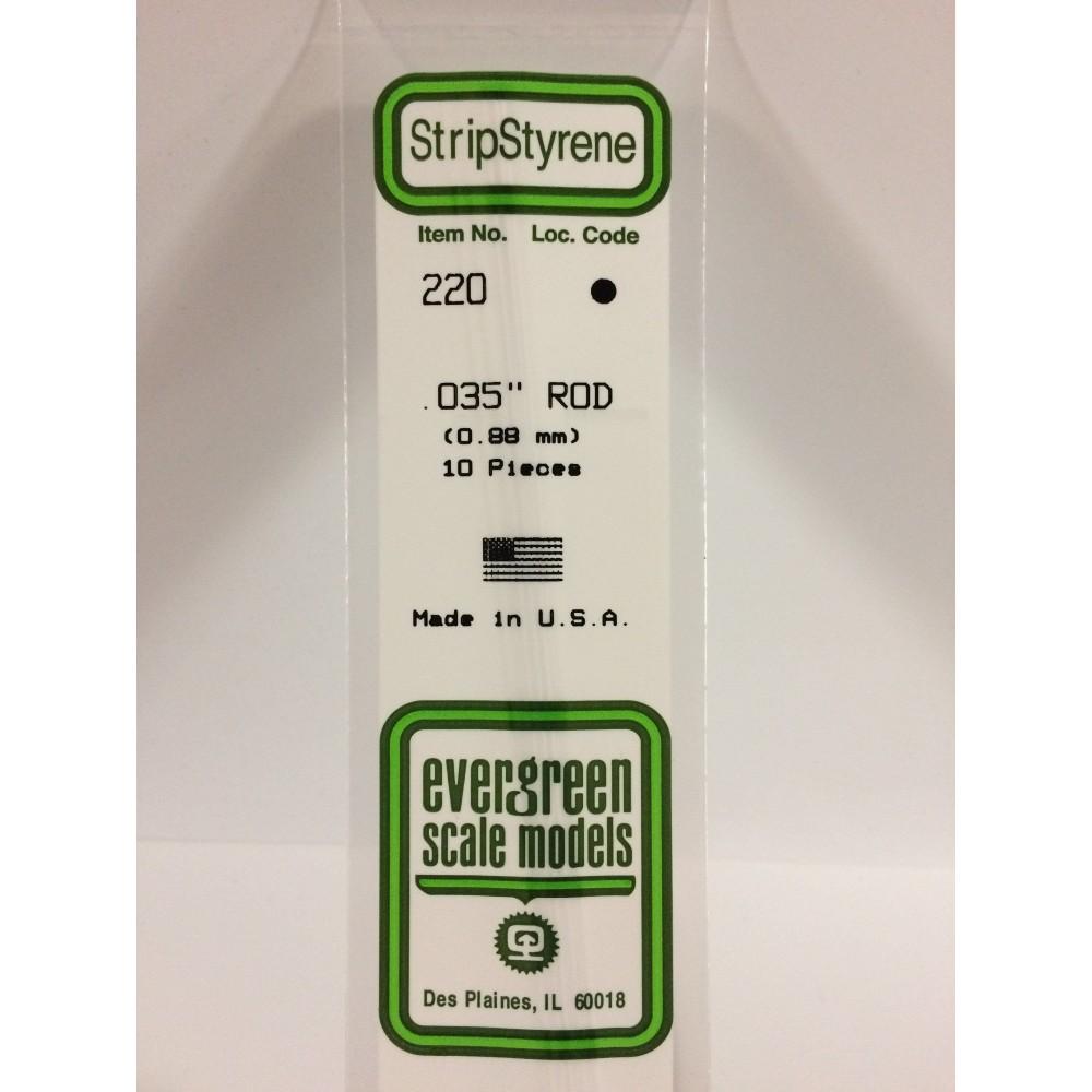 Rond 0.88x350mm Ref : 220 - Evergreen