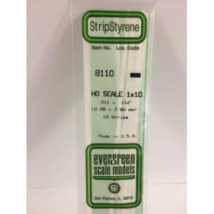 Baguette HO 0.3x2.8x350mm Ref : 8110 - Evergreen