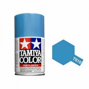 Peinture bombe Bleu de France brillant TS10 Tamiya