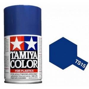 Peinture bombe Bleu brillant TS15 Tamiya