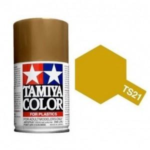 Peinture bombe Doré brillant TS21 Tamiya