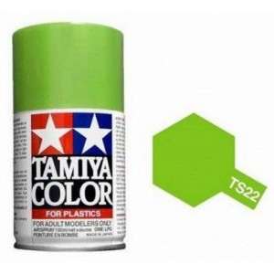 Peinture bombe Vert Clair brillant TS22 Tamiya