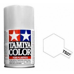 Peinture bombe Blanc mat TS27 Tamiya