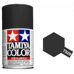 Peinture bombe Noir satiné TS29 Tamiya