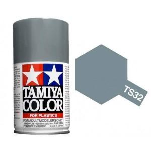 Peinture bombe Gris Brume mat TS32 Tamiya
