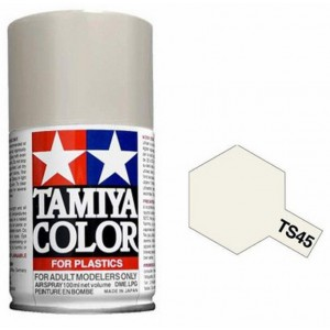 Peinture bombe Blanc nacré TS45 Tamiya